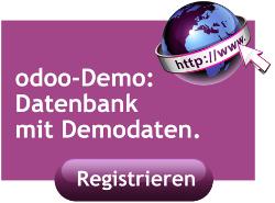 odoo Demo Datenbank